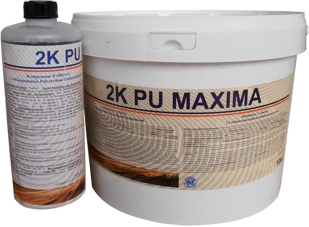 Клей паркетный 2K PU Maxima (10,89 кг)